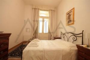 Bedroom - For Rent: Furnished 2-BD Apartment Prague 2 - Vinohrady, Italska street