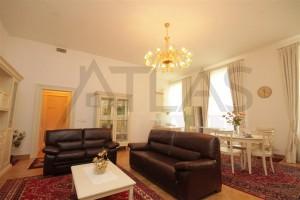 Living Room - For Rent: Furnished 2-BD Apartment Prague 2 - Vinohrady, Italska street