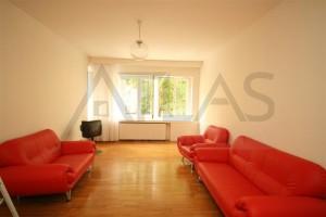 Living Room - For Rent; 3-bedroom Flat - Prague 1 - Nové Město, Klimentská str.