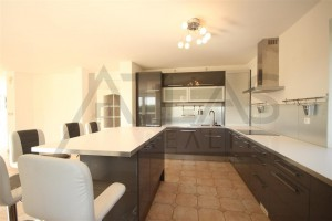 Beautiful kitchen - For Rent: 6-bedroom House 250 sqm Prague 6 - Nebusice