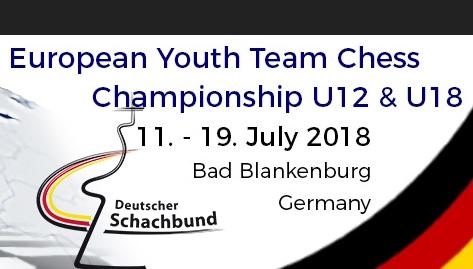 Mistrovství Evropy družstev do 18 let v Šachu v Bad Blankenburg
