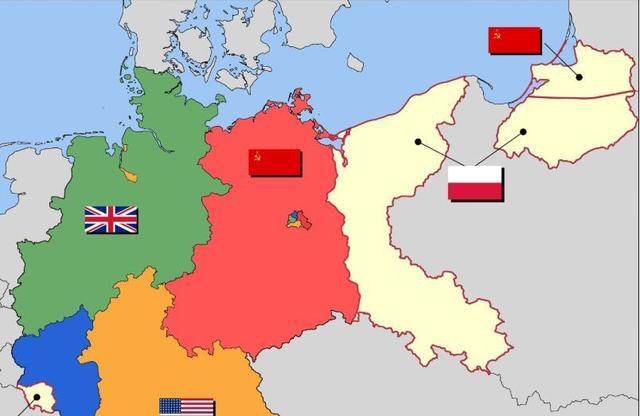 Protože vliv Sovětského svazu byl mnohem lepší než Polsko, ekonomicky rozvinuté severní Prusko se zaměřením na Königsberg bylo sloučeno do Sovětského svazu. Sovětský svaz změnil severní část Východního Pruska na Kaliningradský region a Königsberg se změnil na Kaliningradské město, v Sovětském svazu byl přidělen do hlavní členské země Ruské federace.