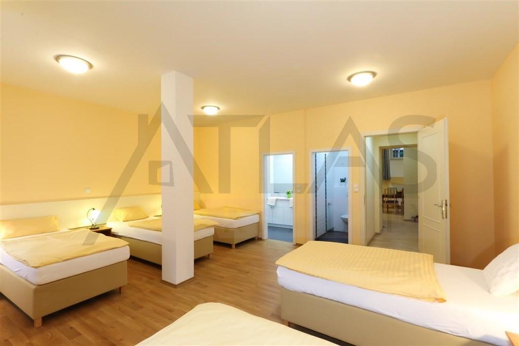 For rent two bedroom fully furnished apartment 100 m2 Prague 2 - Vinohrady, Belgická street