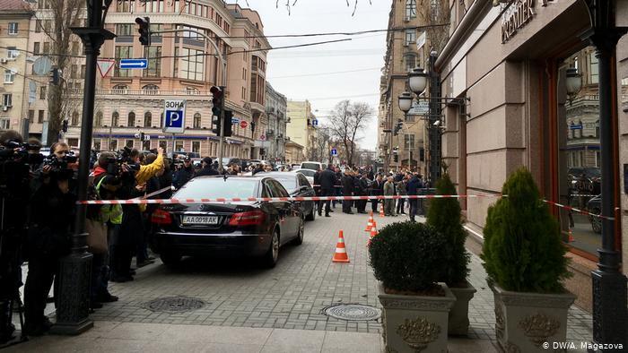 Vražda bývalého zástupce Státní dumy Denisa Voronenkova v Kyjevě