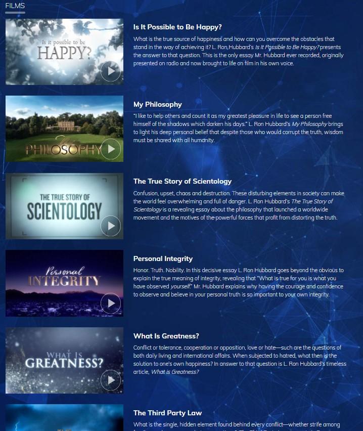scientologický televizní kanál