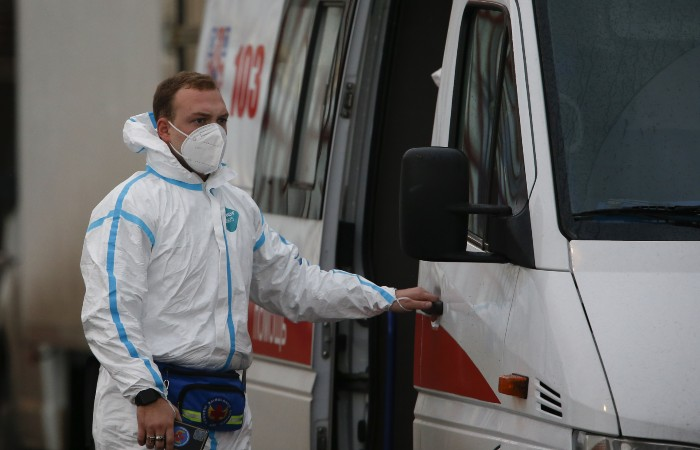 V Rusku bylo zjištěno dalších 8,7 tisíce případů koronavirové infekce