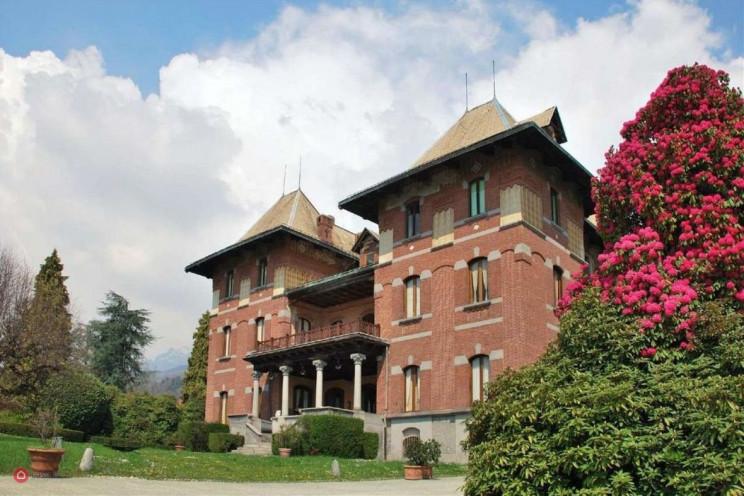 Historická Villa Cernigliaro v Piemontu
