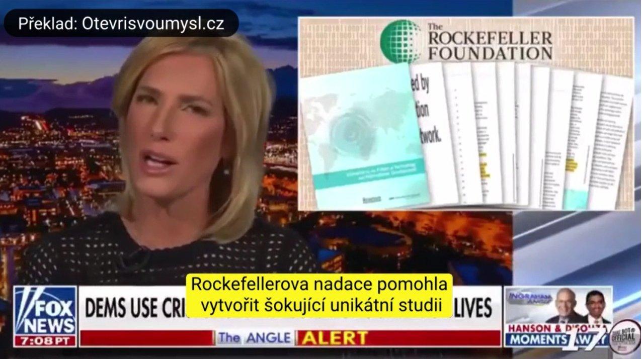 Rockefellerova nadace v roce 2010 předpověděla globální pandemii